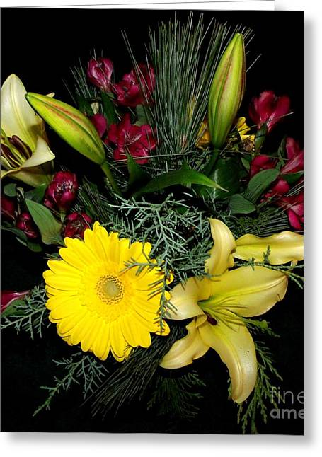 Thinking Of You Bouquet Greeting Card
