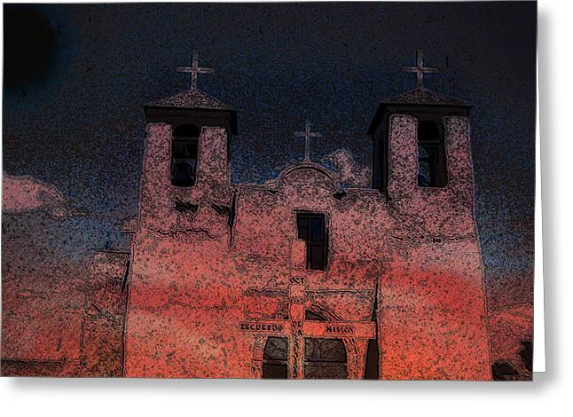 Greeting Card featuring the digital art This  by Cathy Anderson