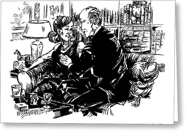 This Could Be The Marriage All Our Other Greeting Card by William Hamilton