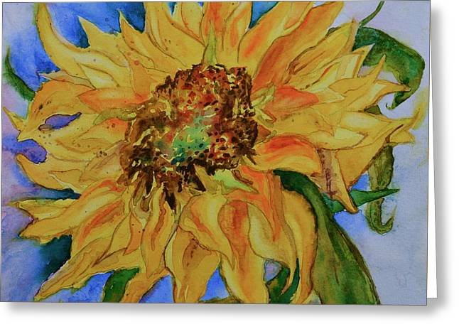 This Here Sunflower Greeting Card
