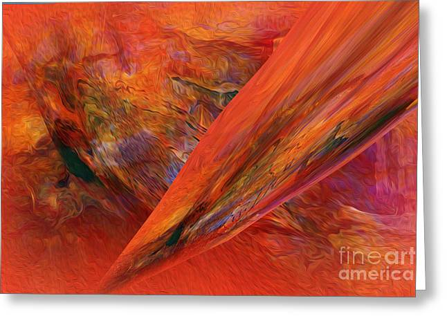 This Is It   Abstract   Greeting Card by Sherri's Of Palm Springs