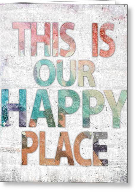 This Is Our Happy Place Greeting Card