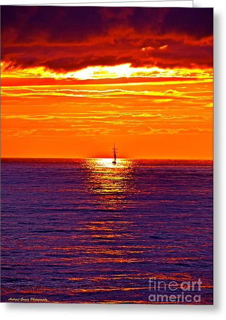 This Must Be Heaven - When Dreams Come True - Thank You Greeting Card by  Andrzej Goszcz