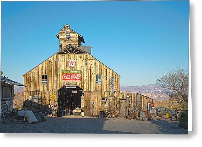 Greeting Card featuring the photograph This Old Barn by James Sage