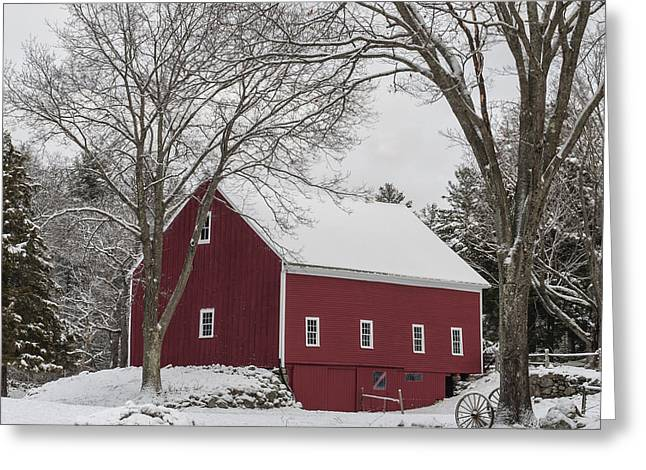 This Old Barn Greeting Card by Jean-Pierre Ducondi