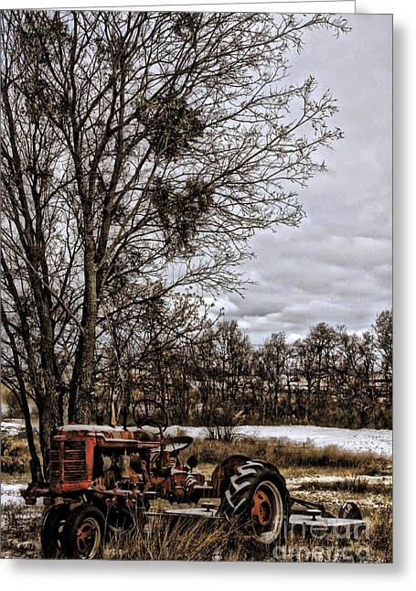 This Old Farmall - No.9669 Greeting Card