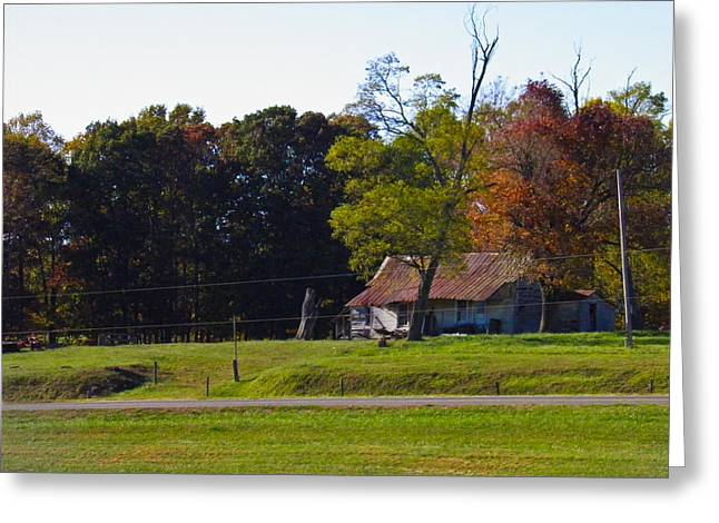 Greeting Card featuring the photograph This Old House by Nick Kirby