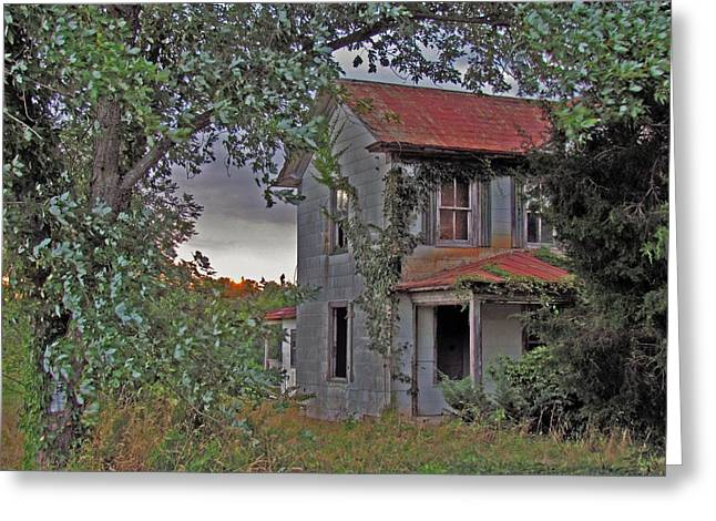 This Old House Greeting Card by Trish Clark