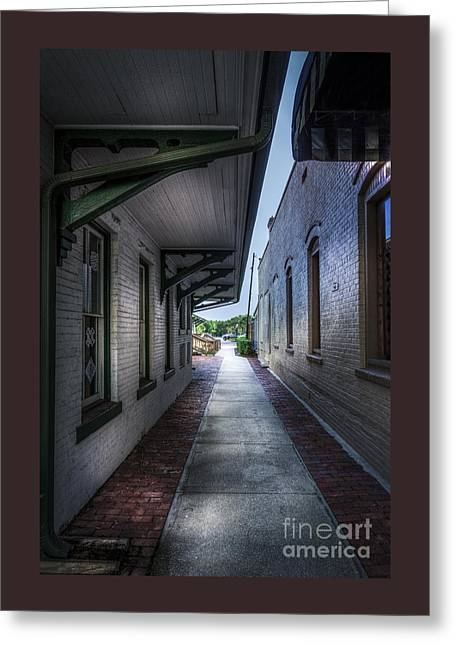 This Way To The Trains Greeting Card by Marvin Spates