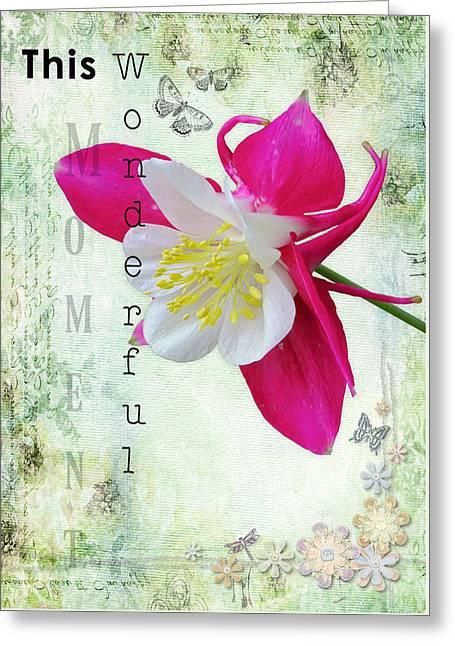 This Wonderful Moment Greeting Card by Amanda Lakey