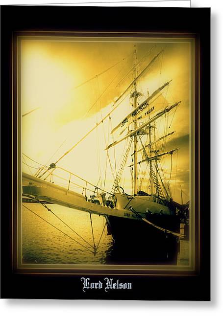 Th'lord Nelson Greeting Card by Ritchard Mifsud