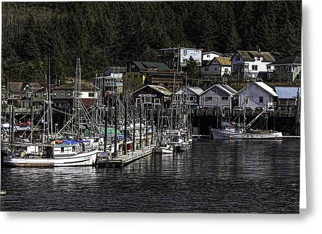 Thomas Basin Alaska 007mas  Greeting Card by Timothy Latta