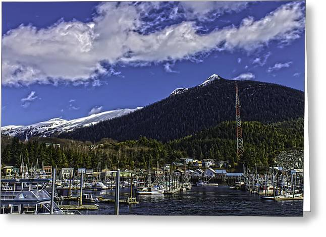 Thomas Basin R009 Greeting Card by Timothy Latta