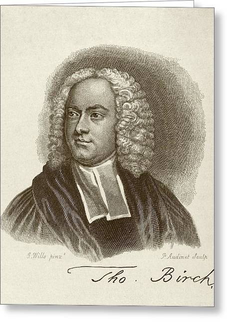 Thomas Birch Greeting Card by Middle Temple Library