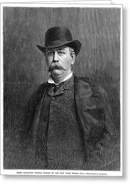 Thomas Byrnes (1842-1910) Greeting Card by Granger