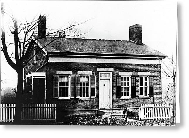 Thomas Edison Birthplace Greeting Card