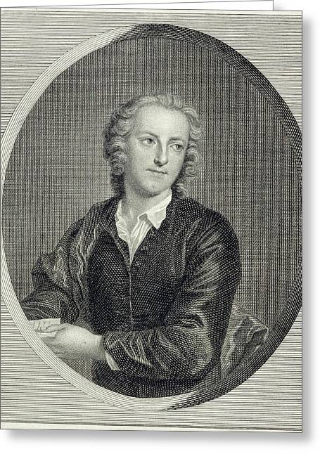 Thomas Grey Greeting Card by British Library
