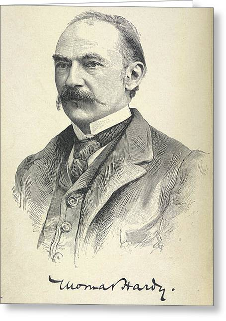 Thomas Hardy Greeting Card by British Library