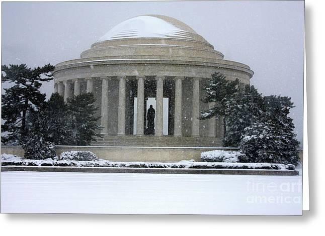 Thomas Jefferson Memorial Greeting Card