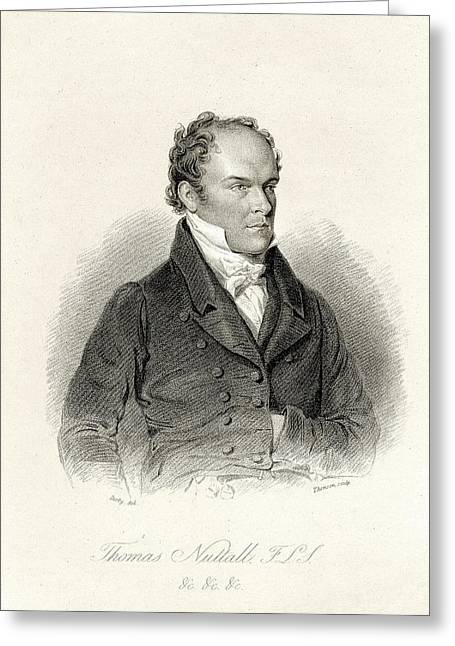 Thomas Nuttall Greeting Card by American Philosophical Society