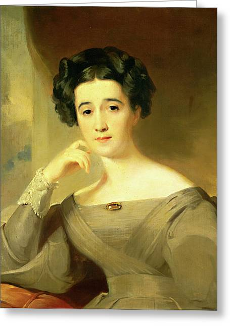 Thomas Sully American, 1783-1872 Greeting Card by Litz Collection