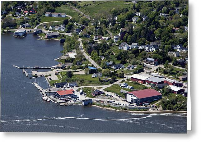 Thomaston, Maine Me Greeting Card by Dave Cleaveland