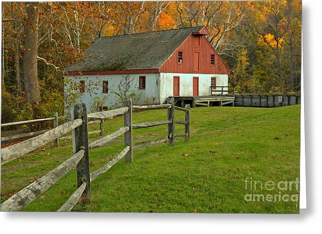 Thompson Neely Grist Mill Greeting Card