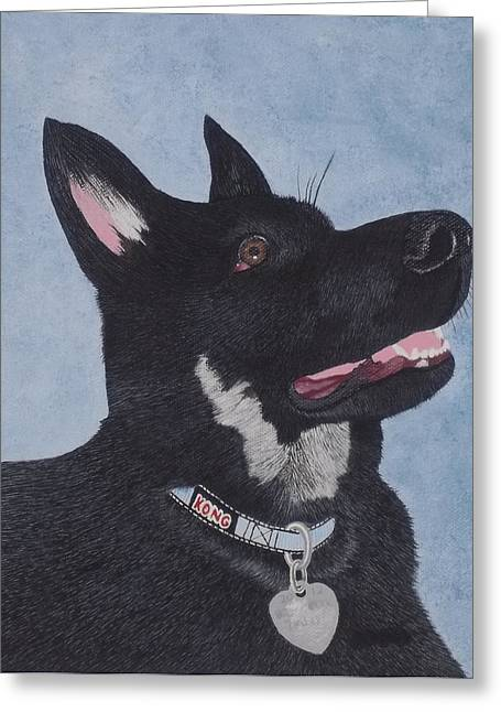 Thor Maximus Von San Murray's Portrait Greeting Card