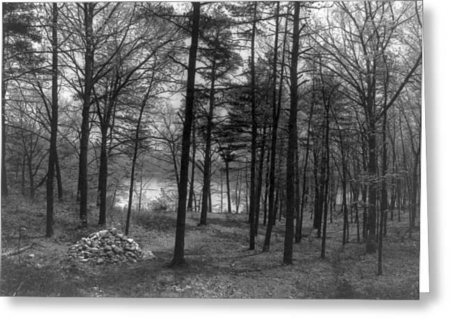 Thoreau Walden Pond Greeting Card