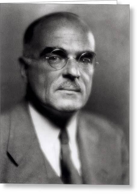 Thornton Wilder Greeting Card