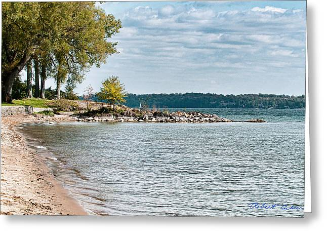 Greeting Card featuring the photograph Thousand Islands by Robert Culver