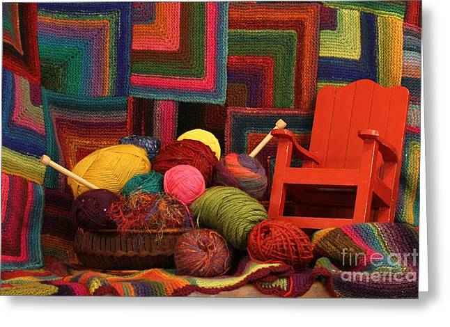 Threads Of The Soul Al Profits Benefit Hospice Of The Calumet Area Greeting Card