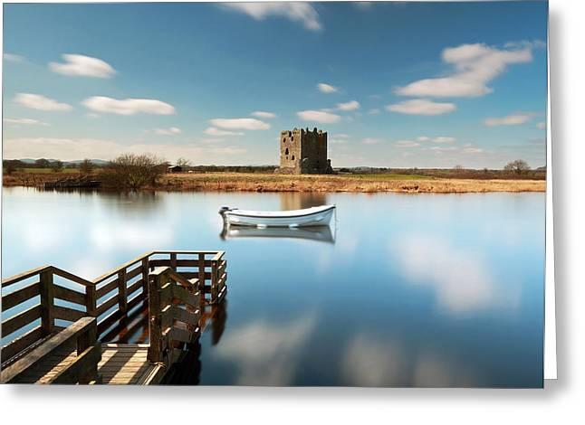 Threave  Castle Greeting Card by Grant Glendinning