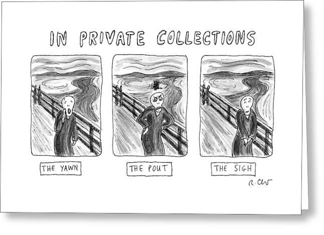 Three Alternate Versions Of Edward Munch's Greeting Card