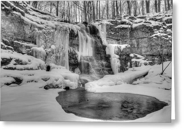 Three Falls Woods Greeting Card