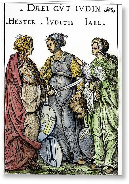 Three Jewish Heroines Greeting Card
