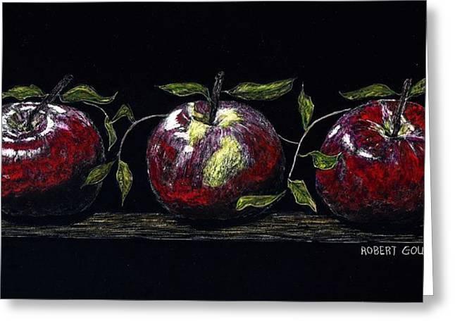 Three Macs Greeting Card by Robert Goudreau