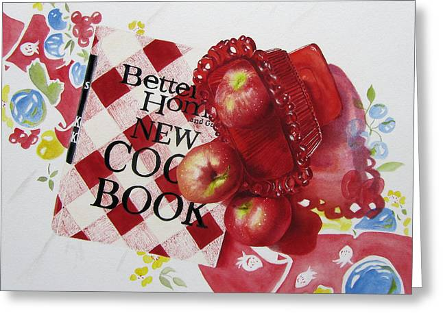 Three To Get Ready Greeting Card by Karlyn Holloway