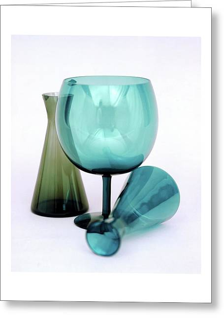 Three Venini Glasses Greeting Card