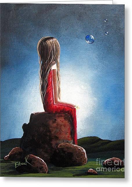 Three Wishes By Shawna Erback Greeting Card by Shawna Erback