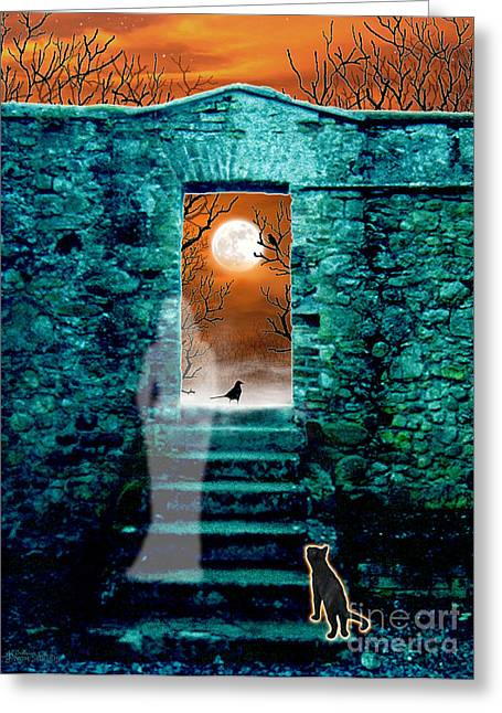 Threshold Greeting Card