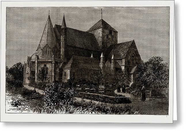 Throndhjem Cathedral, Norway Greeting Card