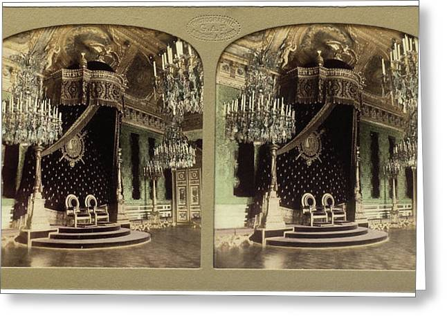 Throne Hall Palais Des Tuileries France, Florent Grau Greeting Card by Artokoloro