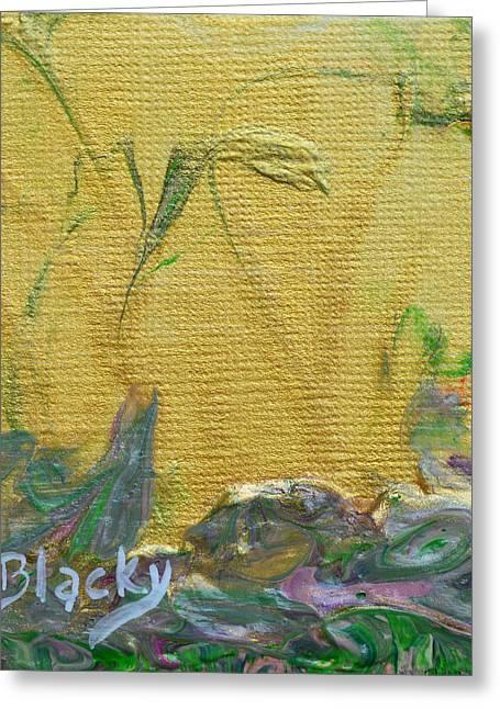 Through A Sunlit Veil Greeting Card by Donna Blackhall