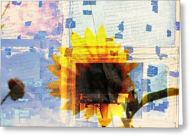 Through My Minds Eye Greeting Card by Robert Ball
