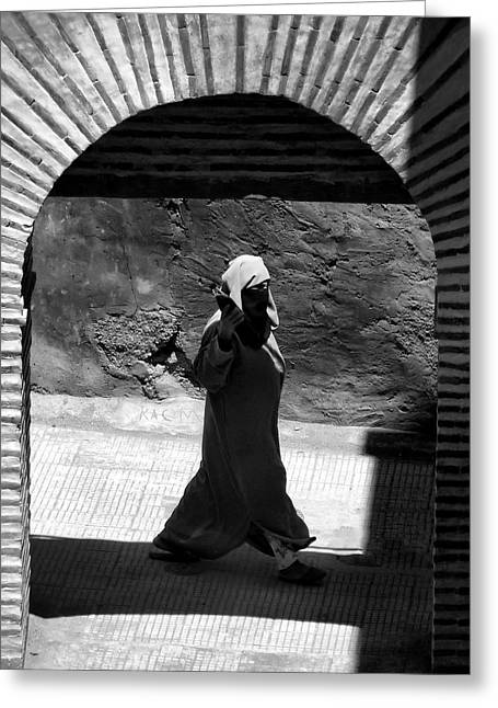 Through The Archway.. Greeting Card by A Rey