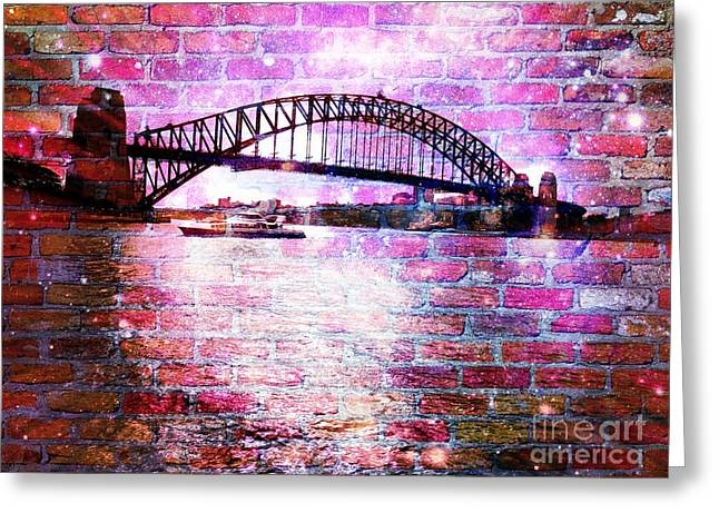 Sydney Harbour Through The Wall 1 Greeting Card