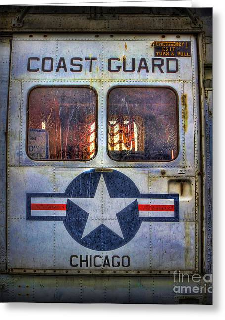 Through These Doors Dive Heroes  Greeting Card