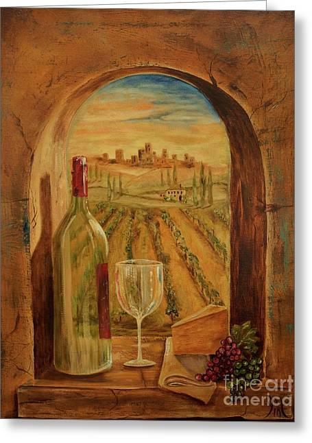 Through This Window Greeting Card by Jodi Monahan
