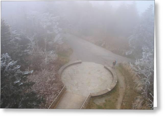 Thru Hiker On The Appalachian Trail Greeting Card by Dan Sproul